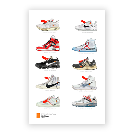 Nike Off White The Ten Collection