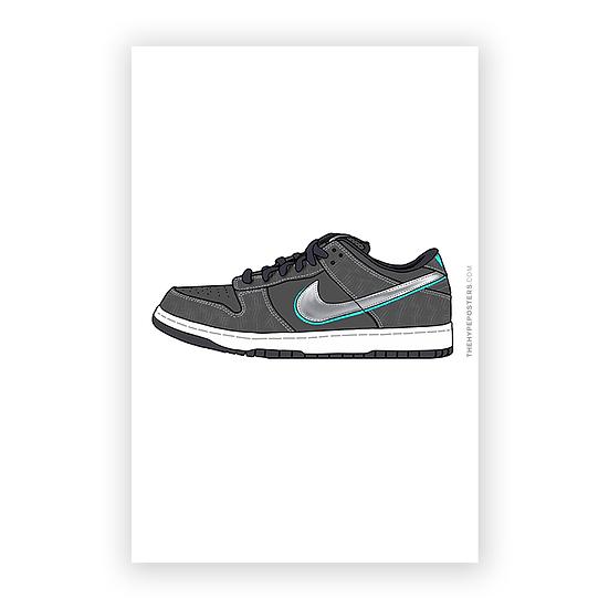 Nike Dunk Low Diamond Black