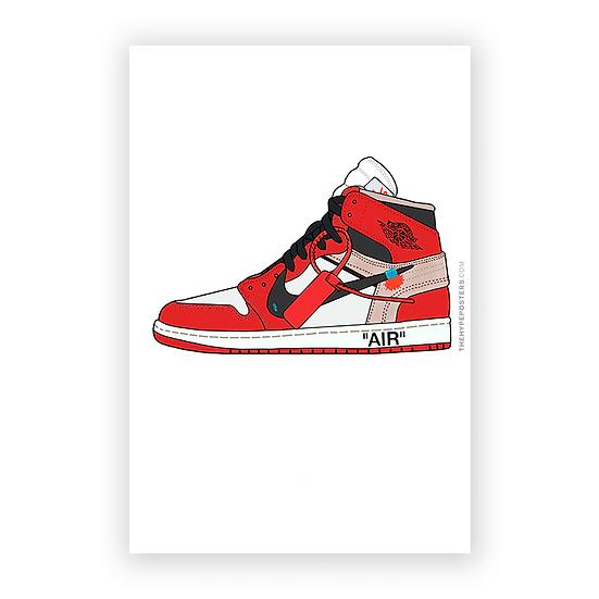 Nike Air Jordan 1 Chicago Off White