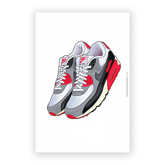 Nike Air Max 90 Infrared 2