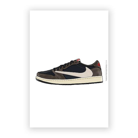 Nike Air Jordan 1 Low Travis Scott