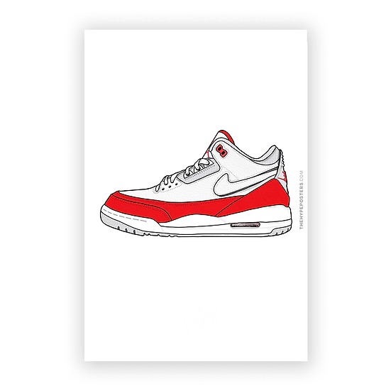 Nike Air Jordan 3 Tinker