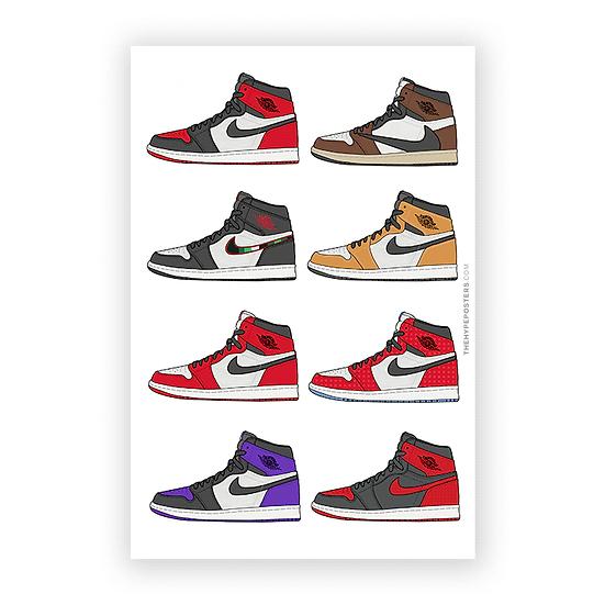 Nike Air Jordan 1 Series