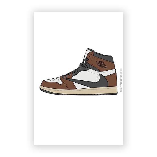 Nike Jordan 1 Cactus Jack