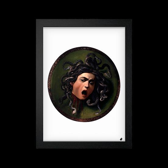 Poster / Quadro Medusa (1597) de Caravaggio