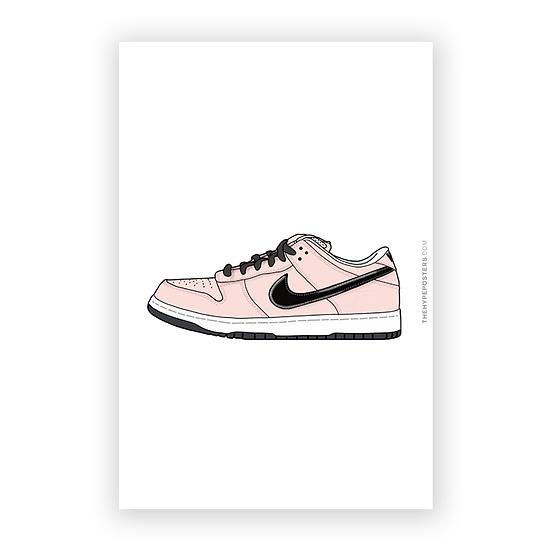 Nike Dunk Low Pink Box