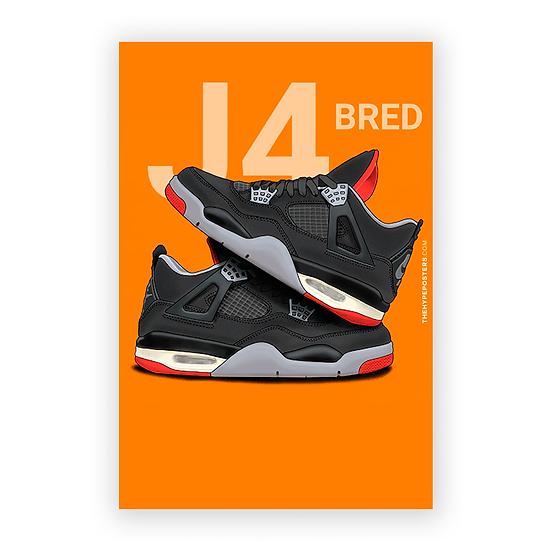 Nike Air Jordan 4 Bred 2