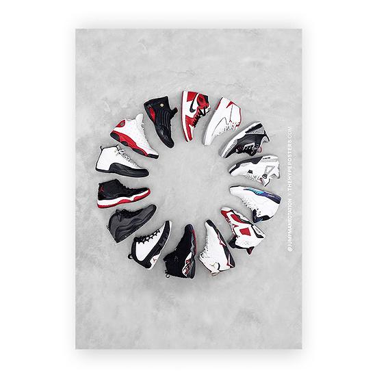Nike Air Jordan Clock Jumpman Rotation