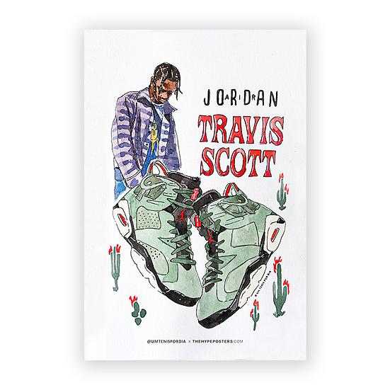 Nike Air Jordan 6 Travis Scott @umtenispordia