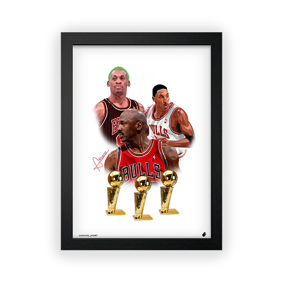 Poster / Quadro Dream Team Bulls X Arturito