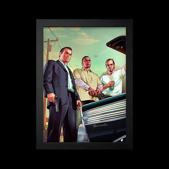 Poster / Quadro Grand Theft Auto V