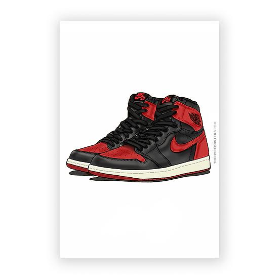 Nike Air Jordan 1 Bred