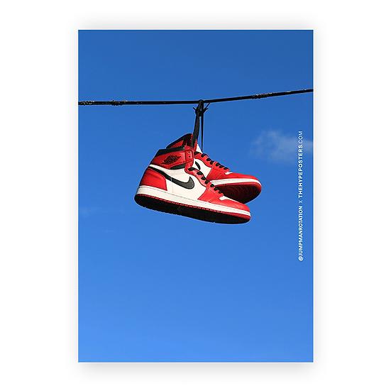Nike Air Jordan 1 Chicago Jumpman Rotation