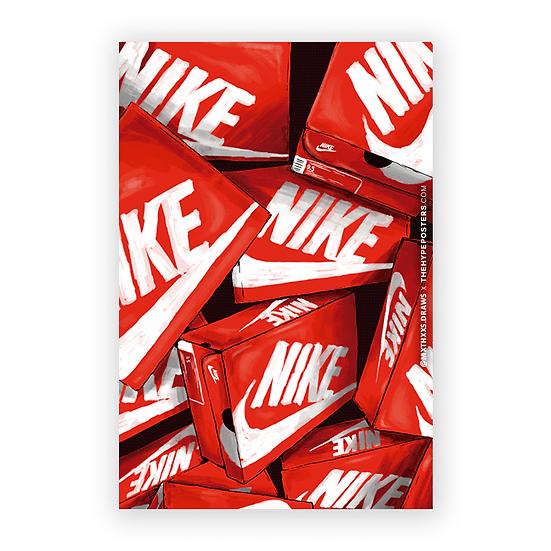 Nike Red Box