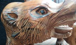 Hand Carved Bear