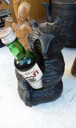 Bear Holding Whisky