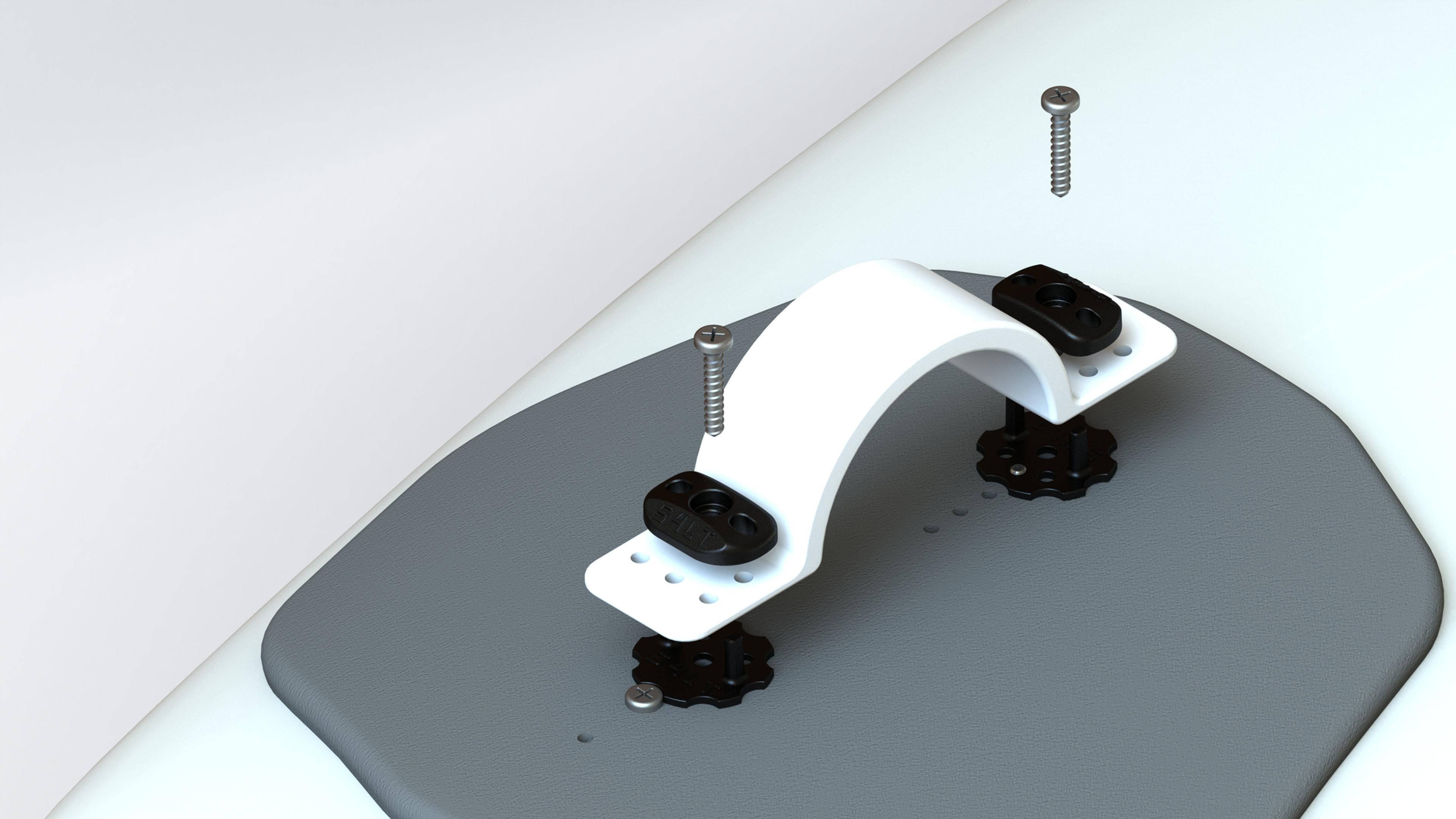 Anti- Twist- Washer Verdrehschutz für Fußschlaufen Black 3x S4LT- ATW 277