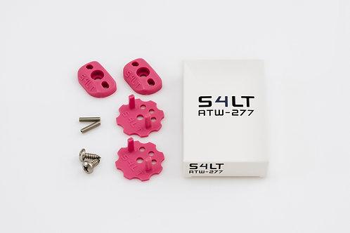 1x S4LT- ATW 277 - Pink (Anti- Twist- Washer), Verdrehschutz für Fußschlaufen