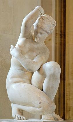 statue Aphrodite Le Louvre, Paris