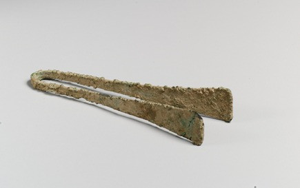 preuve archéologique pince Musée The Met, New-York