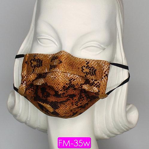 Face Mask - Snake