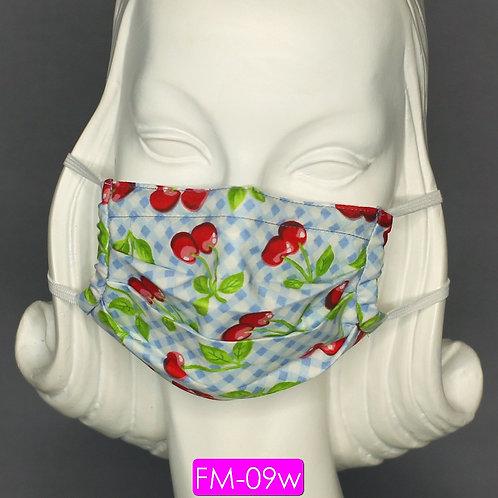 Face Mask - Cherries