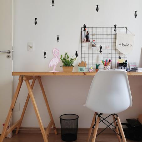 Mobiliário e soluções simples transformaram este apartamento alugado em Curitiba