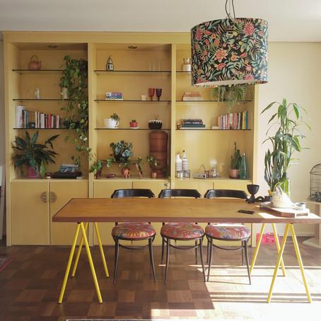 Imóvel dos anos 30 abriga um apartamento alugado incrível