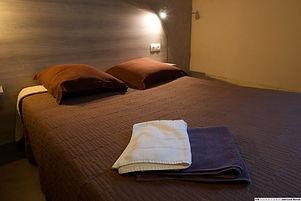 hotel la tente verte loon plage chambre à grand lit