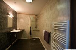 salle de bains hotel la tente verte