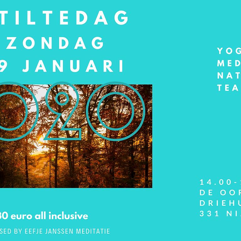 Stiltedag met Yoga, Meditatie & Nature...