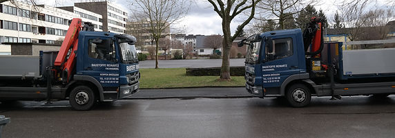 Baustoffe Reinartz LKW blau Brüggen