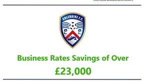 Gowlands scores Business Rates savings for Coleraine FC