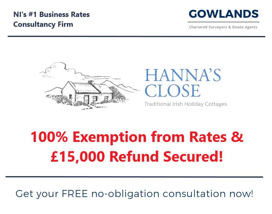 Gowlands   Chartered Surveyors in Ballymoney and Belfast   Business Rates   Gowlands Secure Full Exemption From Business Rates For Northern Ireland Charity
