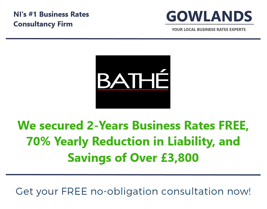 Gowlands | Chartered Surveyors in Ballymoney and Belfast | Business Rates | Gowlands Secure Business Rates Savings For Northern Ireland Business