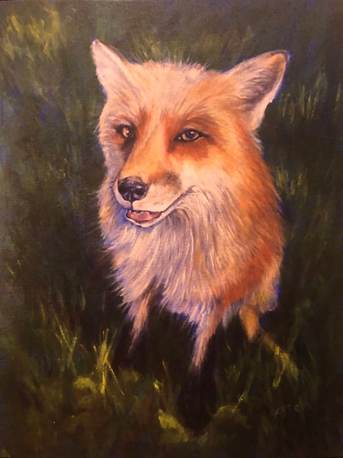 Finnegan Fox Print 11x14