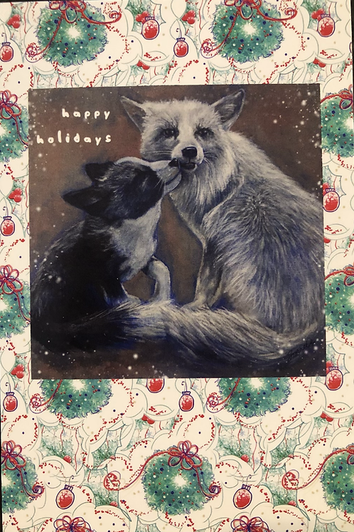 (10) Happy Holiday Post Cards 5x7 Kipper and Waverly