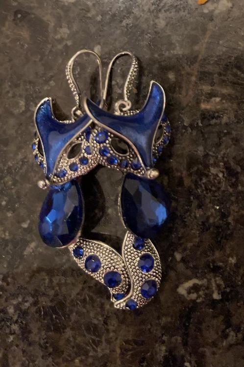 Beautiful fox earrings
