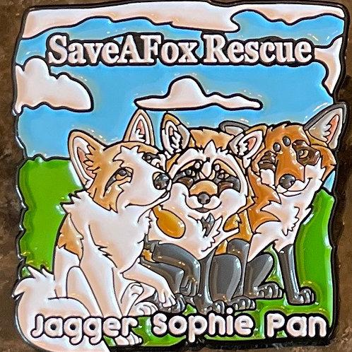 Jagger Sophie Pan pin