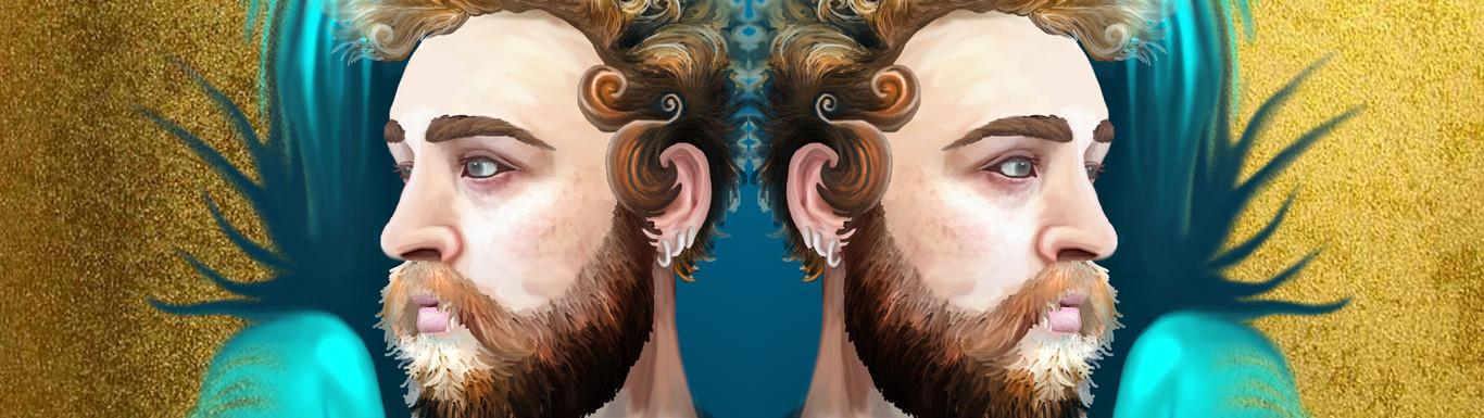 Digital Portrait - Surreal Pop