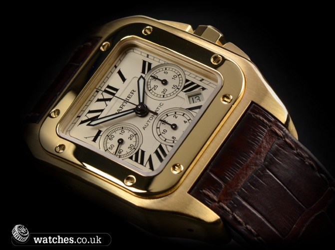 Cartier Santos 100