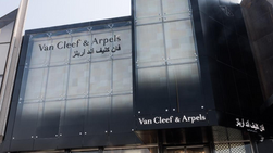 Van Cleef & Arpels opens their new Boutique in Jeddah, Saudi Arabia. 14-Feb-2020