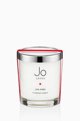 Log Fires Home Candle