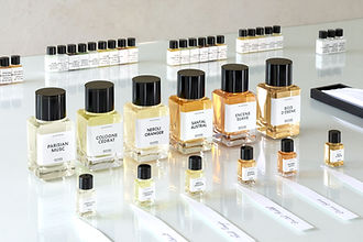 Perfumers desk COLLECTION Matiere Premie