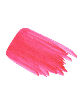 Lip Stain Swatch in Hot Pink