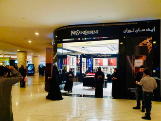 Yves Saint Laurent Beauty opens their first Stand-alone Boutique in Riyadh, Saudi Arabia