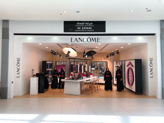 Lancôme Pop-Up Store Opens in Red Seam Mall, Jeddah