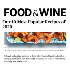 Rocky's Hot Chicken Shack in Food & Wine