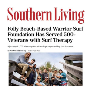 Warrior Surf Foundation featured in Southern Living