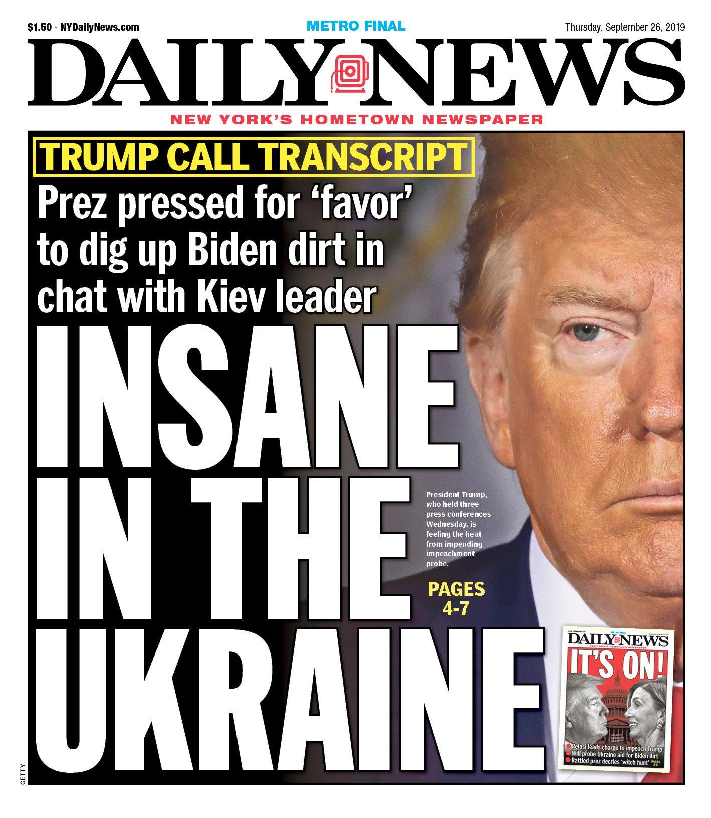 Insane in the Ukraine